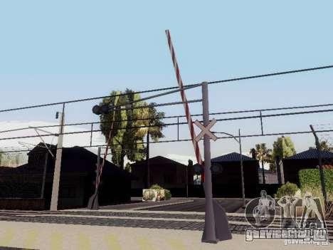 ЖД переезд RUS V 2.0 для GTA San Andreas третий скриншот