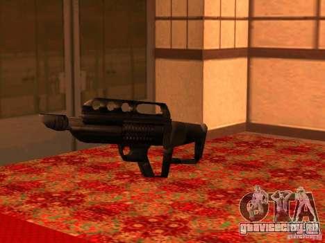 Pancor Jackhammer для GTA San Andreas шестой скриншот