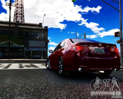 Honda Accord Tuning by Type-S для GTA 4 вид слева