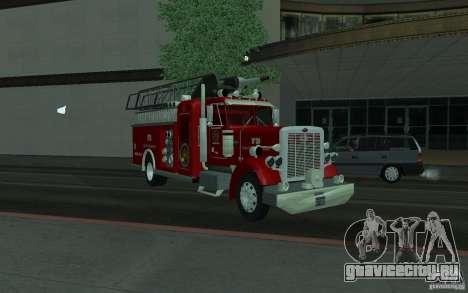 Peterbilt 379 Fire Truck ver.1.0 для GTA San Andreas вид справа