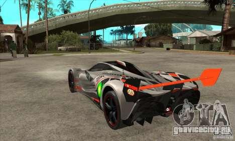 Mazda Furai V2 для GTA San Andreas вид справа