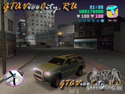 JEEP GRAND CHEROKIE для GTA Vice City