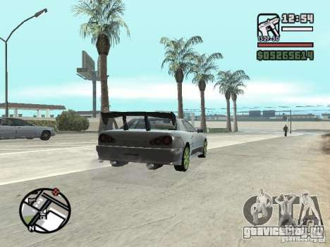 Elegy First Update By reNz для GTA San Andreas вид справа