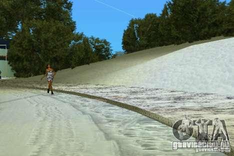 Snow Mod v2.0 для GTA Vice City третий скриншот