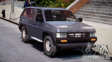 Nissan Terrano для GTA 4 вид сзади