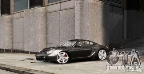 Porsche Cayman для GTA 4 вид слева
