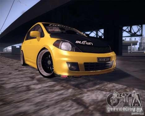 Nissan Versa Tuned для GTA San Andreas вид слева