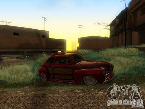 Ford Coupe 1946 Mild Custom для GTA San Andreas вид сзади