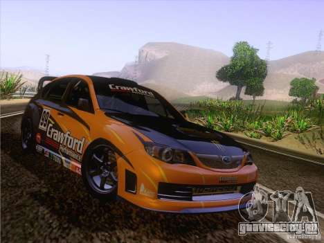 Subaru Impreza WRX STI N14 Gymkhana для GTA San Andreas