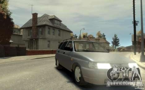 Lada ВАЗ 2111 для GTA 4 вид сзади