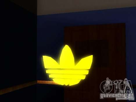 Эмблема Adidas для GTA San Andreas второй скриншот