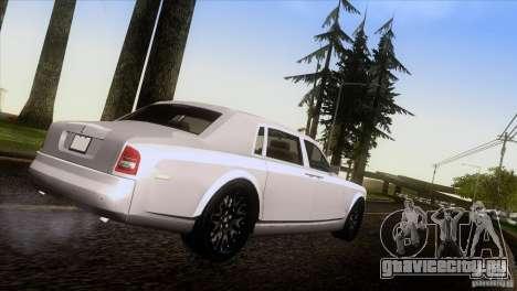 Rolls Royce Phantom Hamann для GTA San Andreas вид слева