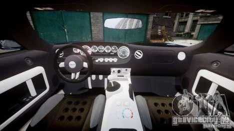 Ford Hennessey GT1000 2006 v2.0 EPM для GTA 4 вид справа