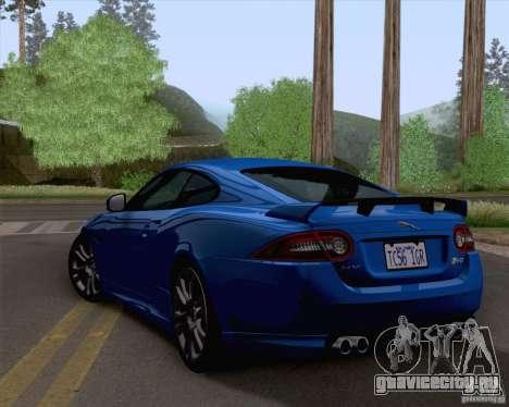 Jaguar XKR-S 2012 для GTA San Andreas вид слева