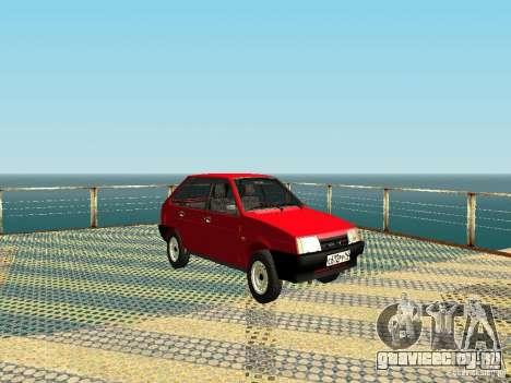 ВАЗ 2109 v2 для GTA San Andreas
