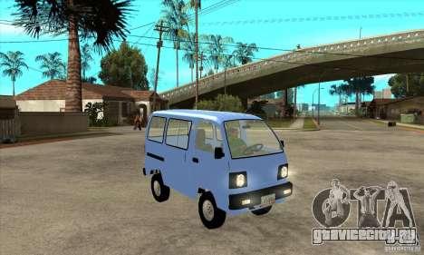 Suzuki Carry 1993 для GTA San Andreas вид сзади