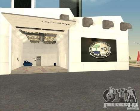 AMG showroom для GTA San Andreas пятый скриншот