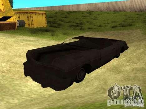 Real Ghostcar для GTA San Andreas