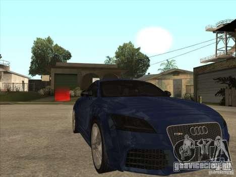 Audi TT RS 2010 для GTA San Andreas вид сзади