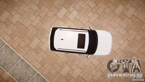 Range Rover Sport Supercharged v1.0 2010 для GTA 4 вид сзади