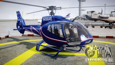Eurocopter EC130B4 NYC HeliTours REAL для GTA 4 вид сзади