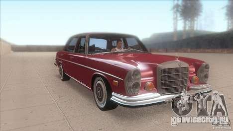 Mercedes-Benz 300 SEL для GTA San Andreas вид сзади