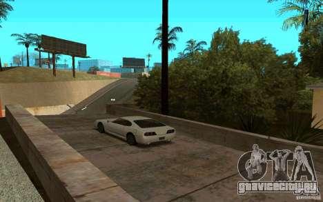 Спортивные машины возле Грув Стрит для GTA San Andreas третий скриншот