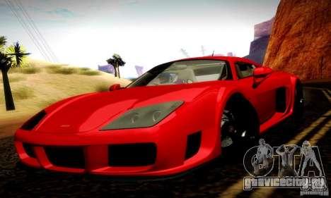 Noble M600 Final для GTA San Andreas