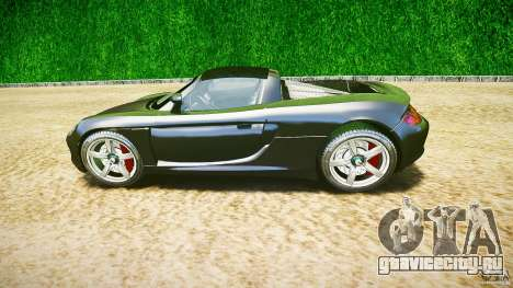 Porsche Carrera GT v.2.5 для GTA 4 вид изнутри