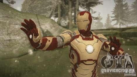 Iron Man Mark 42 для GTA San Andreas второй скриншот