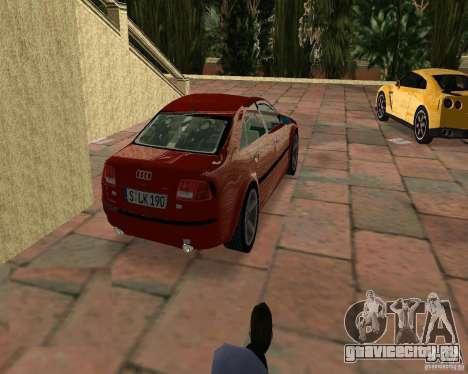 Audi A8 4.2 quattro для GTA Vice City вид слева