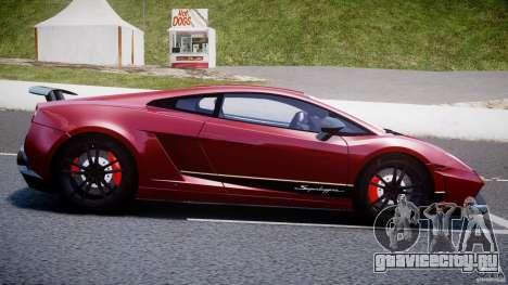 Lamborghini Gallardo LP570-4 Superleggera 2011 для GTA 4 вид слева
