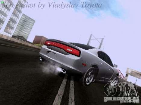 Dodge Charger 2013 для GTA San Andreas вид справа
