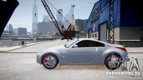Nissan Fairlady 350Z для GTA 4 вид слева