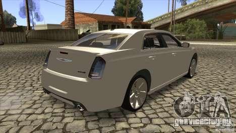 Chrysler 300 SRT-8 2011 V1.0 для GTA San Andreas вид справа