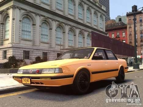 Oldsmobile Cutlass Ciera 1993 для GTA 4
