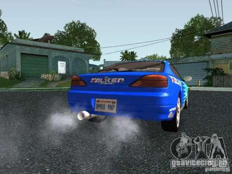 Nissan Silvia S15 Tunable для GTA San Andreas вид сзади