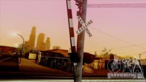 SA Beautiful Realistic Graphics 1.5 для GTA San Andreas девятый скриншот
