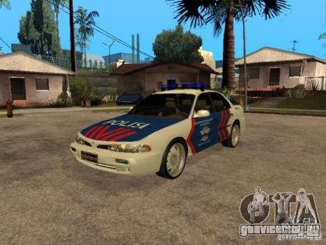 Mitsubishi Galant Police Indanesia для GTA San Andreas