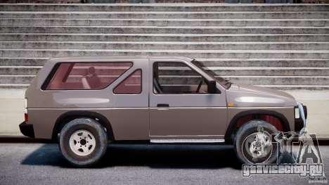 Nissan Terrano для GTA 4 вид изнутри