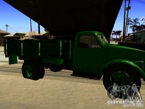 ГАЗ 51А для GTA San Andreas вид сзади слева
