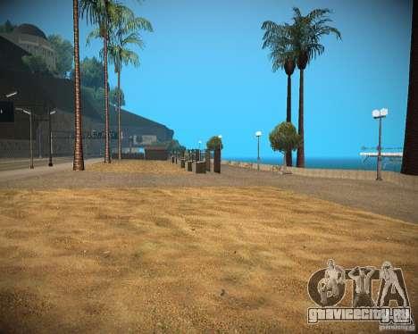 New textures beach of Santa Maria для GTA San Andreas второй скриншот