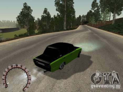 ВАЗ 2106 для GTA San Andreas вид справа