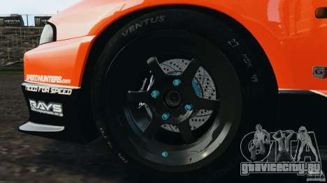 Nissan Skyline GT-R (R33) v1.0 для GTA 4 двигатель