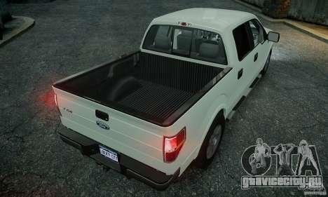 Ford F150 XLT v1.3 для GTA 4 вид сзади слева