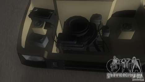 ВАЗ 1111 Ока для GTA Vice City вид снизу