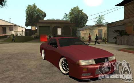 Elegy Modified для GTA San Andreas вид сзади