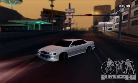 Toyota Chaser TourerV JZX100 для GTA San Andreas