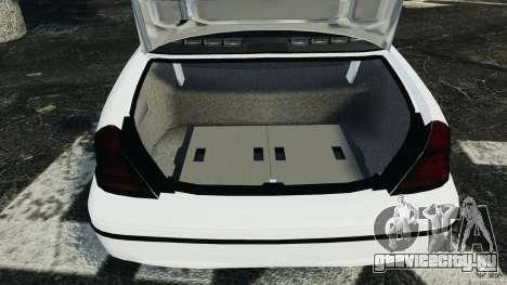 Ford Crown Victoria Police Unit [ELS] для GTA 4 вид сверху