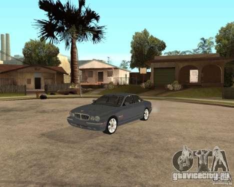 Jaguar XJ-8 2004 для GTA San Andreas вид сбоку